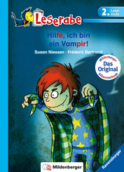 Hilfe, ich bin ein Vampir - Leserabe 2. Klasse - Erstlesebuch ab 7 Jahren