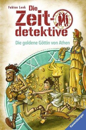 Die Zeitdetektive, Band 40: Die goldene Göttin von Athen; .