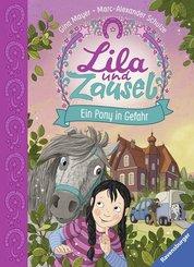 Lila und Zausel, Band 2: Ein Pony in Gefahr; .