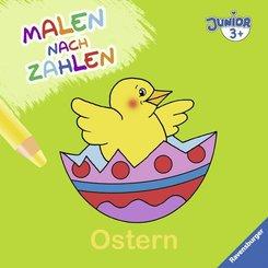 Malen nach Zahlen junior: Ostern