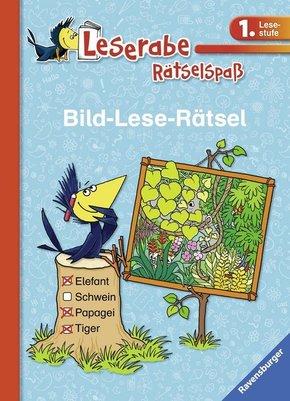 Bild-Lese-Rätsel (1. Lesestufe); .
