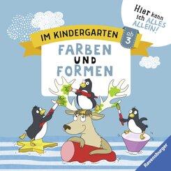 Im Kindergarten: Farben und Formen