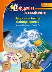 Hugo, das freche Schulgespenst, m. Audio-CD