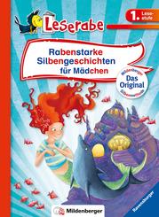 Rabenstarke Silbengeschichten für Mädchen - Leserabe 1. Klasse - Erstlesebuch für Kinder ab 6 Jahren