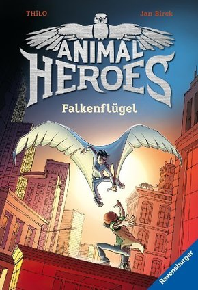 Animal Heroes, Band 1: Falkenflügel; .