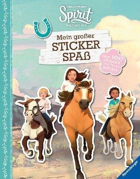 Spirit Wild und Frei: Mein großer Stickerspaß