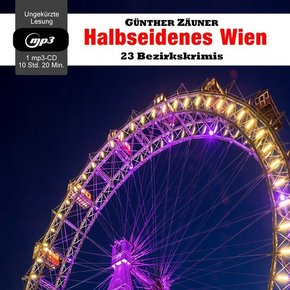 Halbseidenes Wien, 1 Audio-CD, MP3 Format