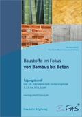Baustoffe im Fokus - von Bambus bis Beton