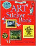 The Usborne Art Sticker Book