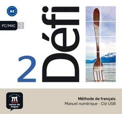 Défi (A2) - Manuel numérique - Clé USB - Bd.2