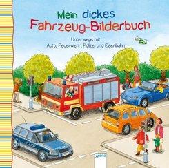 Unterwegs mit Auto, Feuerwehr, Polizei und Eisenbahn