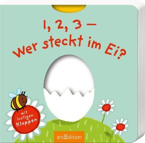 1, 2, 3 - Wer steckt im Ei?