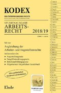 KODEX Arbeitsrecht 2018/19