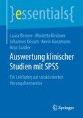 Auswertung klinischer Studien mit SPSS