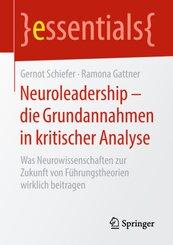 Neuroleadership - die Grundannahmen in kritischer Analyse