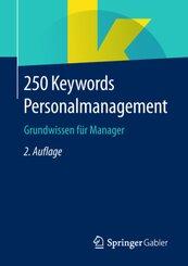 250 Keywords Personalmanagement