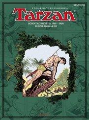 Tarzan. Sonntagsseiten 1949 - 1950