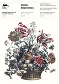 Floral Engravings, Briefpapier