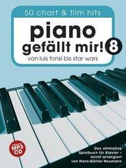 Piano Gefällt Mir!, m. MP3-CD - Bd.8