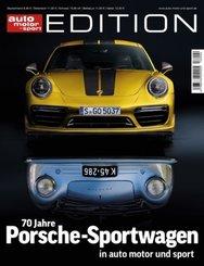 70 Jahre Porsche-Sportwagen in Auto, Motor und Sport