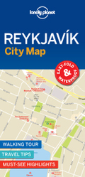 Lonely Planet Reykjavik City Map