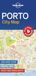 Lonely Planet Porto City Map