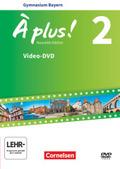 À plus! Nouvelle édition, Ausgabe Bayern: 7. Jahrgangsstufe, Video-DVD; .2