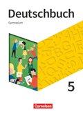 Deutschbuch Gymnasium, Neue Allgemeine Ausgabe 2019: 5. Schuljahr - Schülerbuch