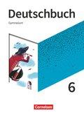 Deutschbuch Gymnasium, Neue Allgemeine Ausgabe 2019: 6. Schuljahr - Schülerbuch
