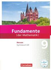 Fundamente der Mathematik, Gymnasium G9 Hessen: 9. Schuljahr, Schülerbuch