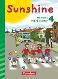 Sunshine, Allgemeine Ausgabe (Neubearbeitung): 4. Schuljahr, Mr Mole's Word Trainer (auch für Bayern)