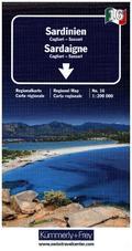 Kümmerly & Frey Regionalkarte Sardinien Italien Nr. 16, 1:200 000