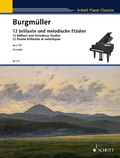 12 brillante und melodische Etüden