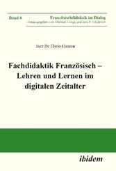 Fachdidaktik Französisch - Lehren und Lernen im digitalen Zeitalter