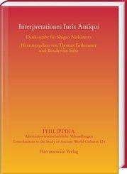 Interpretationes Iuris Antiqui