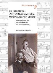"""Julian Krein: """"Notizen aus meinem musikalischen Leben"""""""