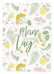 Besticktes Notizbuch - Meine Tag-Träumereien (Botanik)