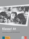 Klasse! - Deutsch für Jugendliche: Lehrerhandbuch mit 4 Audio-CDs und 1 Video-DVD; .A1