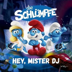 Hey Mister DJ!, 1 Audio-CD