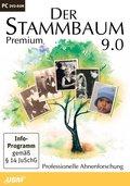 Der Stammbaum 9.0 Premium, 1 DVD-ROM