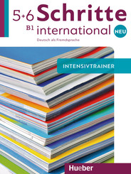 Schritte international Neu - Deutsch als Fremdsprache: Intensivtrainer mit Audio-CD; .5+6