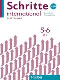 Schritte international Neu - Deutsch als Fremdsprache: Testtrainer mit Audio-CD; .5+6