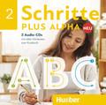 Schritte plus Alpha Neu: 2 Audio-CDs zum Kursbuch; .2