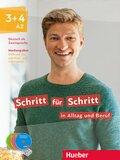 Schritt für Schritt in Alltag und Beruf: Medienpaket zum Kurs- und Arbeitsbuch, DVD + Audio-CDs; .3+4
