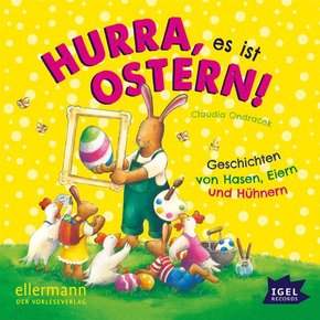 Hurra, es ist Ostern!, 1 Audio-CD