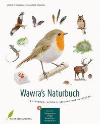 Wawra's Naturbuch - Säugetiere, Vögel, Reptilien, Amphibien