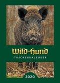 Wild und Hund Taschenkalender 2020