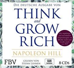 Think and Grow Rich - Deutsche Ausgabe, 8 Audio-CDs