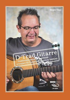 D-Trad Gitarre, m. 1 Audio-CD