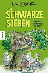 Die Schwarze Sieben und das Baumhaus im Wald